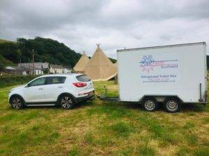trailer at bideford wedding
