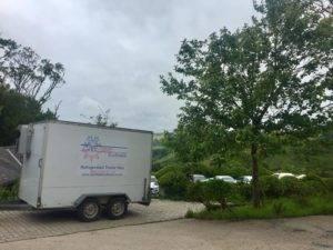 trailer at south devon wedding