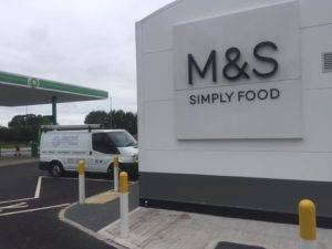 marks and spencer petrol station