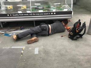 meat fridge repair