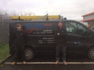 Apprentices Callum and Lewis