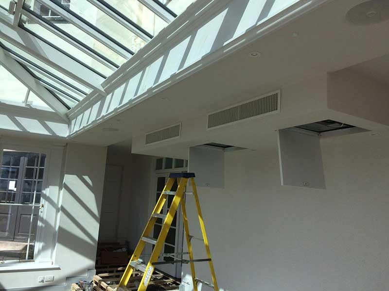 orangery hotel air conditioning unit
